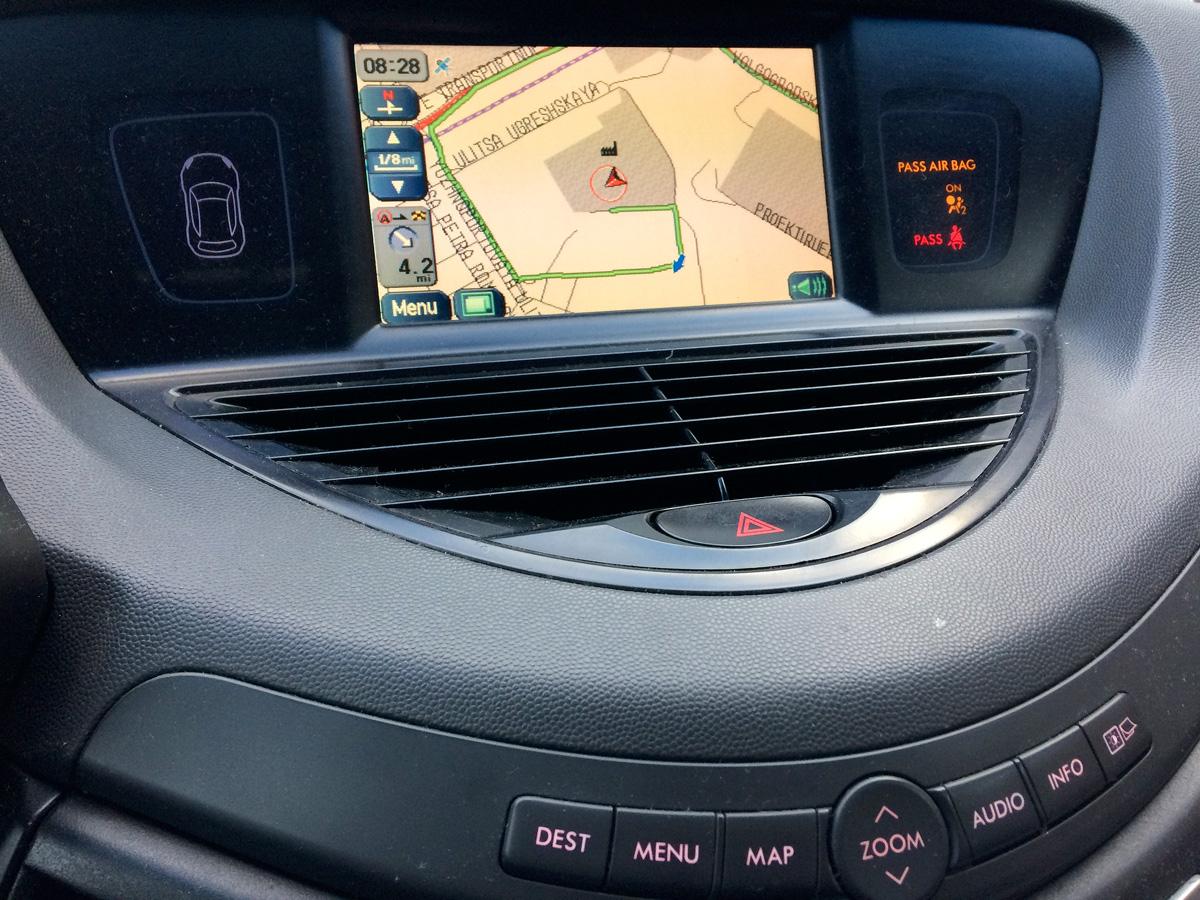 Обновление навигации Subaru