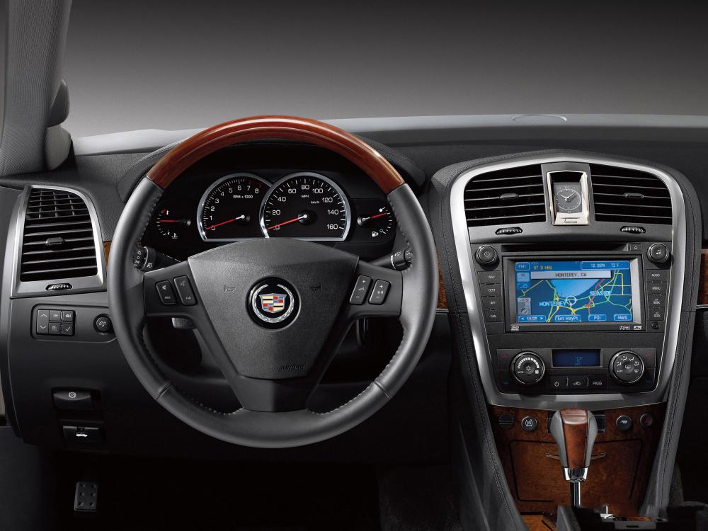 Обновление навигации Cadillac