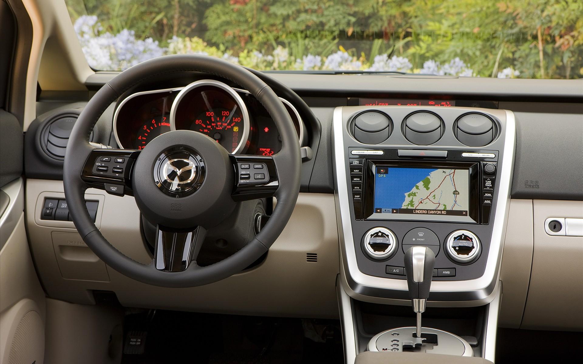 Обновление навигации Mazda USA CX7/CX9
