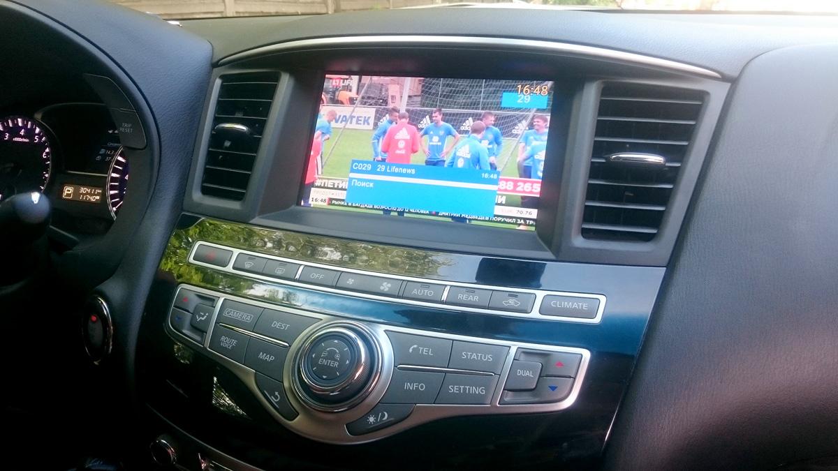 Цифровое TV Nissan